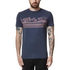tentree Tourist Juniper T-Shirt Men dress blue heather